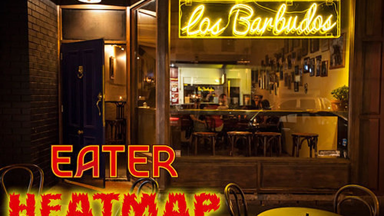 Melbourne Eater - Washington dc eater heat map