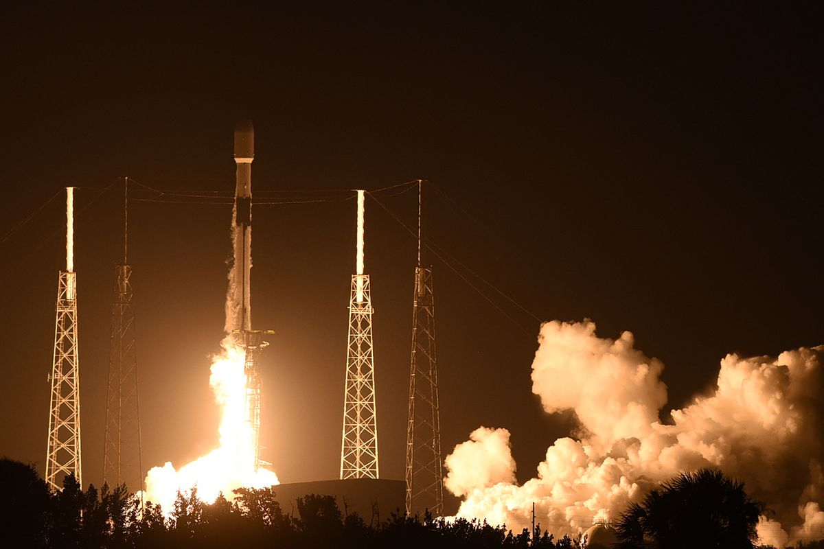 SpaceX Falcon 9 rocket launches for a record ninth time bringing 60 more  Starlink satellites into orbit - The Verge