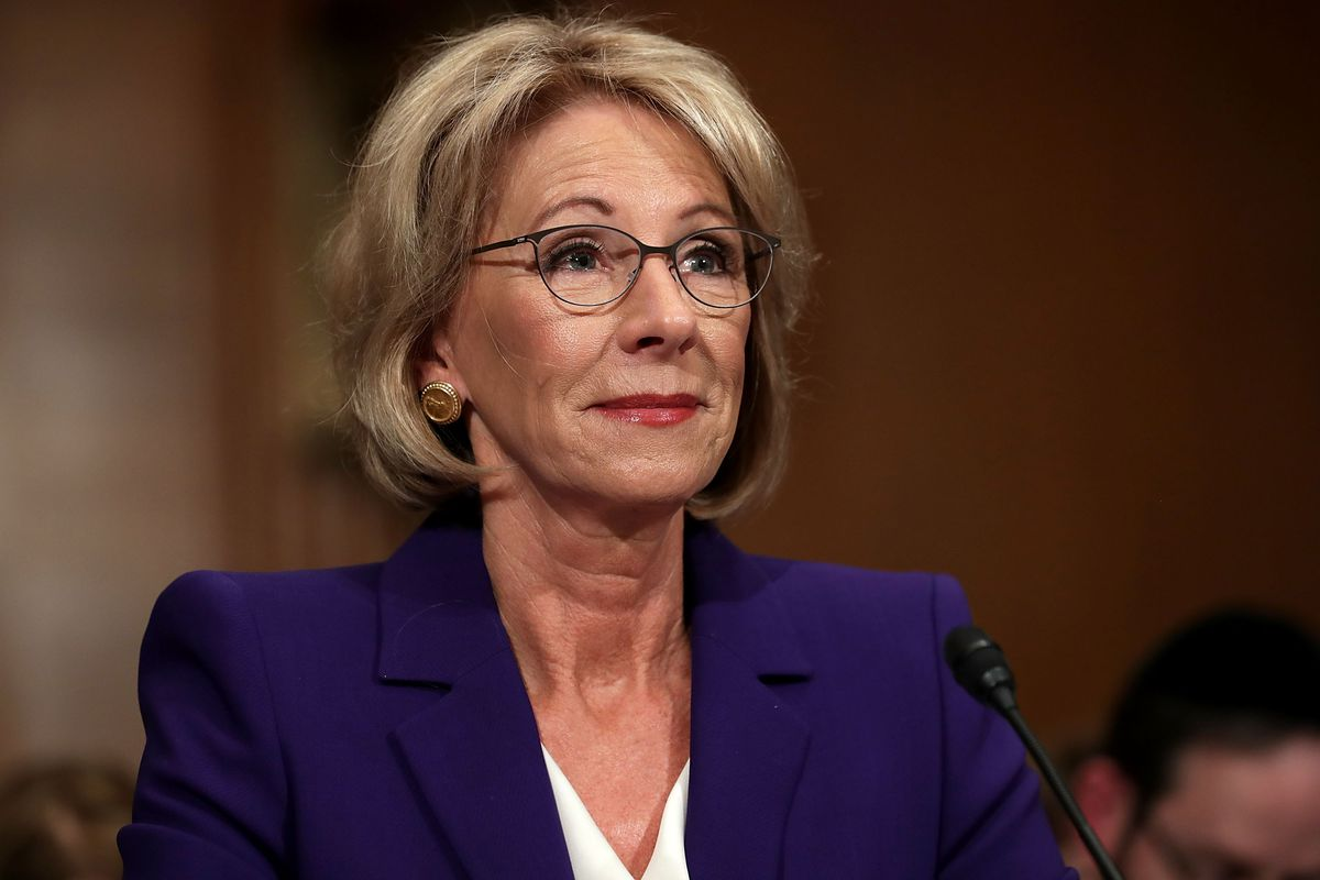Betsy DeVos was asked a basic question about education policy — and  couldn t answer d38793b7b192