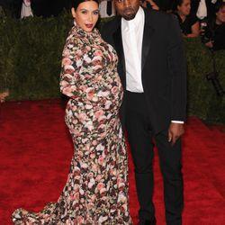 Kim Kardashian in Givenchy in 2013.