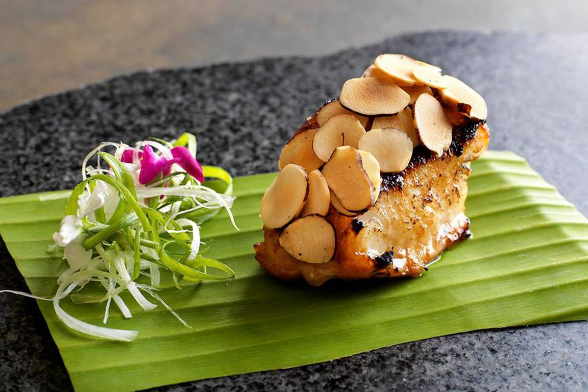 A dish at Maido, ranked number one on Latin America's 50 Best Restaurants list.