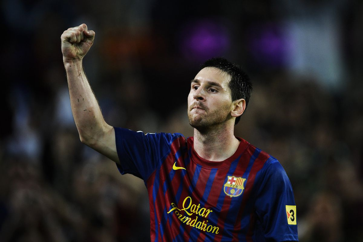 Lionel Messi is only two goal behind László Kubala for second place on Barcelona's all time goalscoring list.