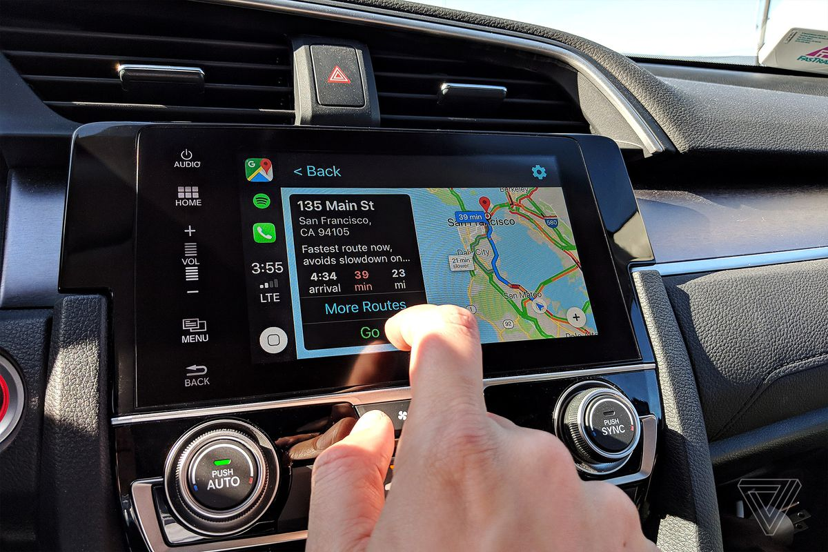 Google Maps And Waze In Apple S Carplay Review Broken Dreams The