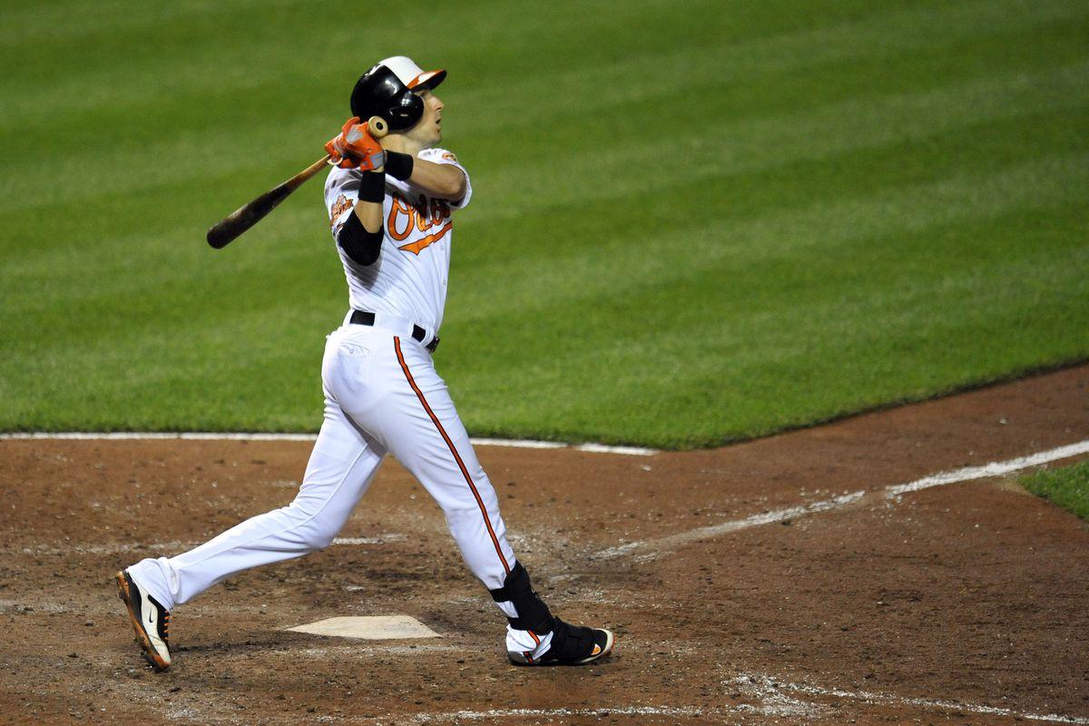 The sweet, sweet home run stroke of...Ryan Flaherty?