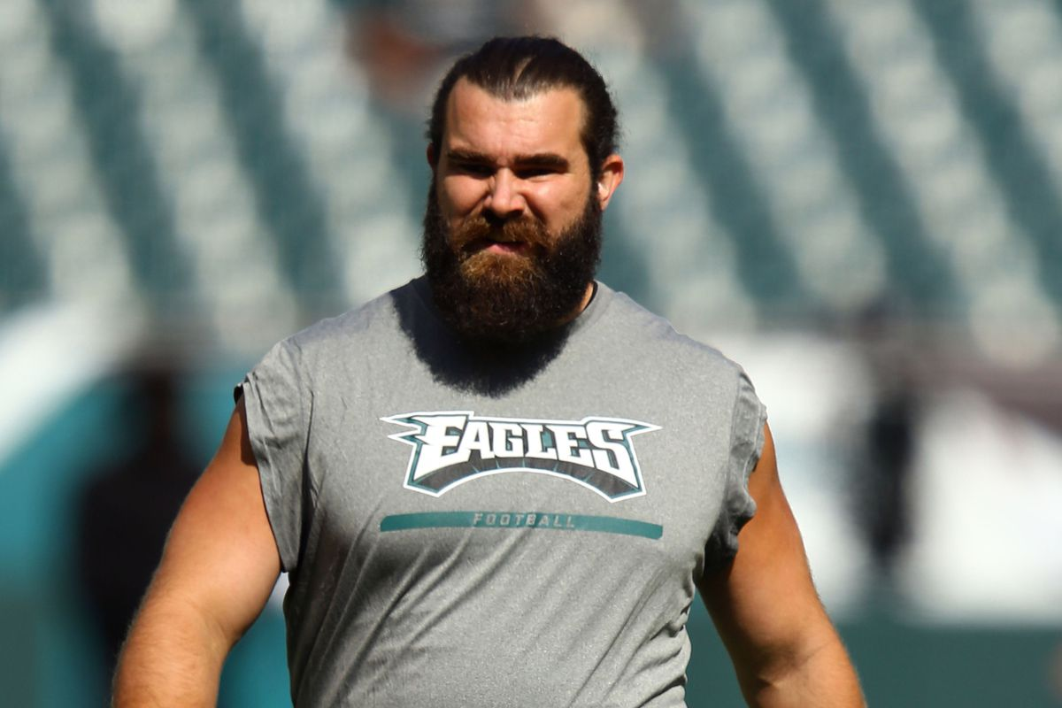 The linc jason kelce doesnt care if the eagles have to face jeffrey g pittenger usa today sports kristyandbryce Image collections
