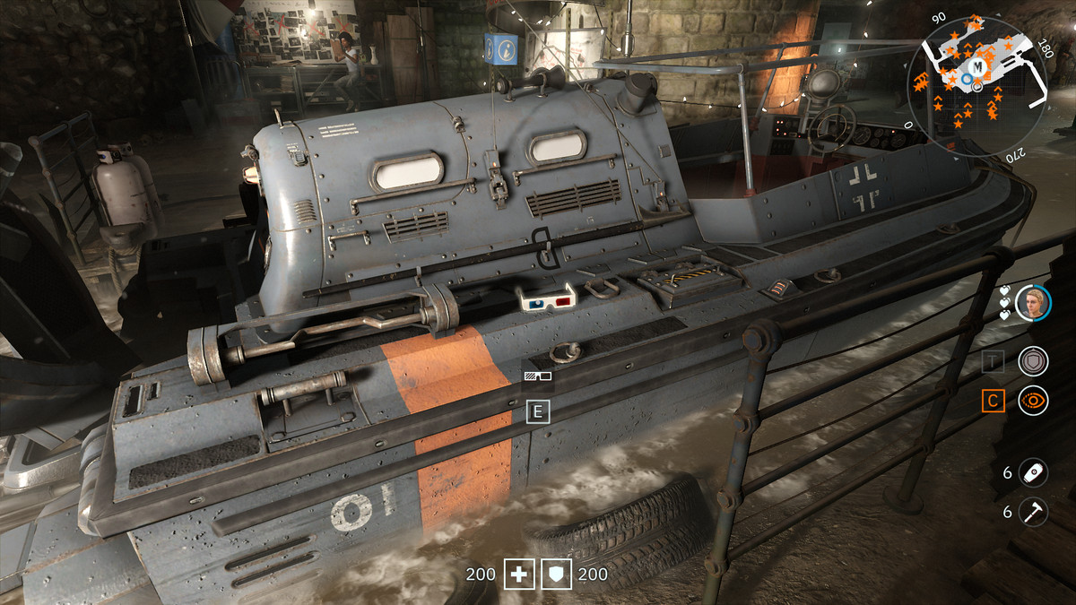 Wolfenstein: Youngblood 3D Glasses 9 collectible Skiff