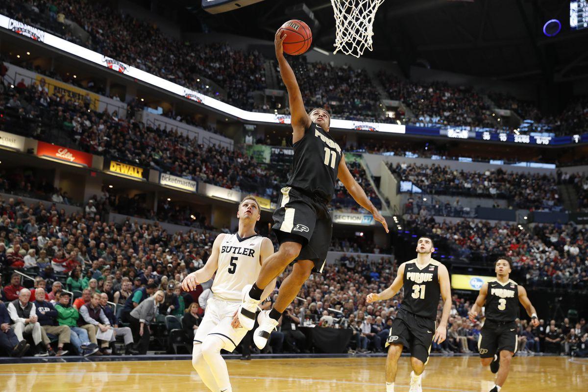 NCAA Basketball: Butler at Purdue