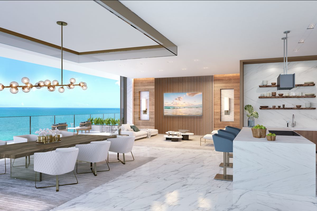 Rendering Of A Muse Sunny Isles Residence Courtesy PMG