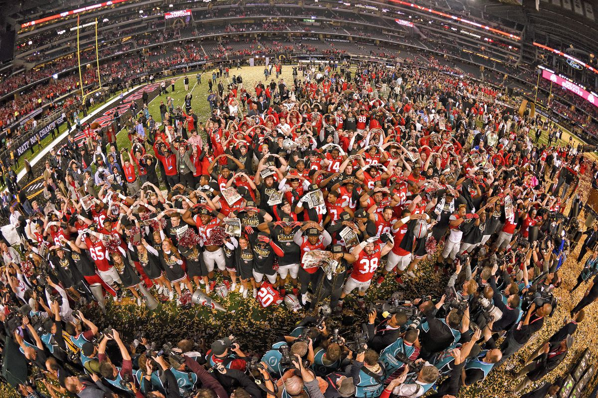 2015 College Football Playoff National Championship presented by AT&T