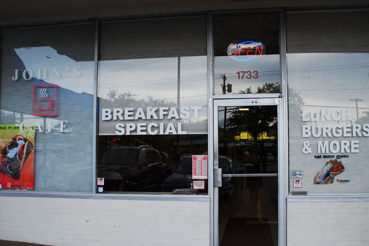 John's Cafe, home of delicious breakfasts.