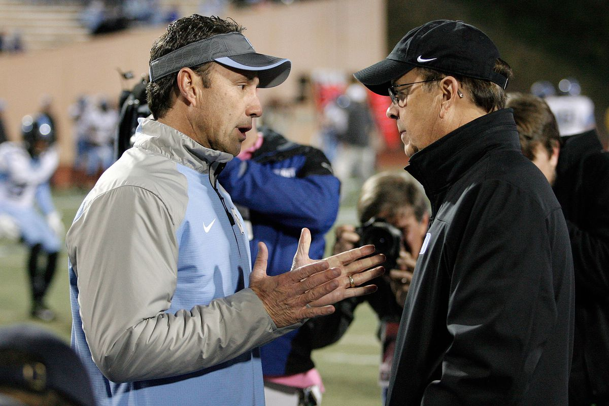 Larry Fedora's continuing preference for visors over actual fedoras continues to irk me.
