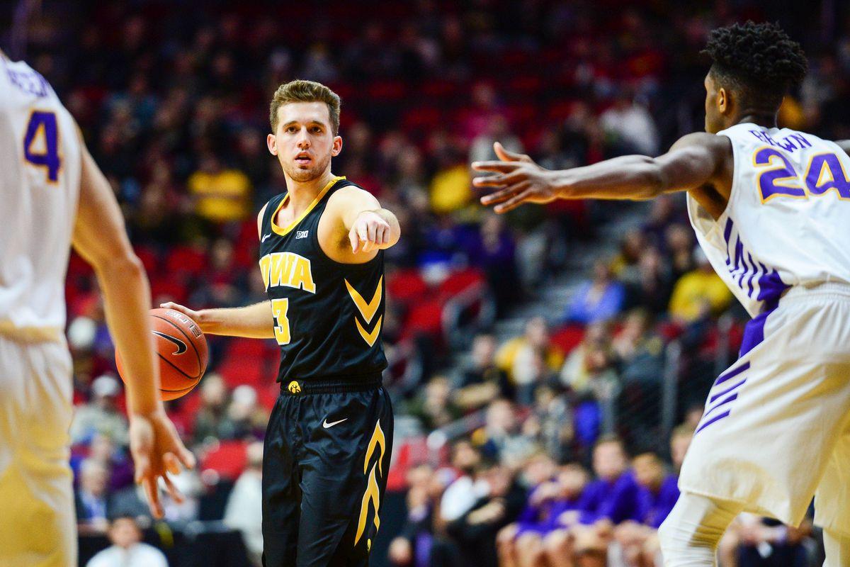 NCAA Basketball: Iowa at Northern Iowa