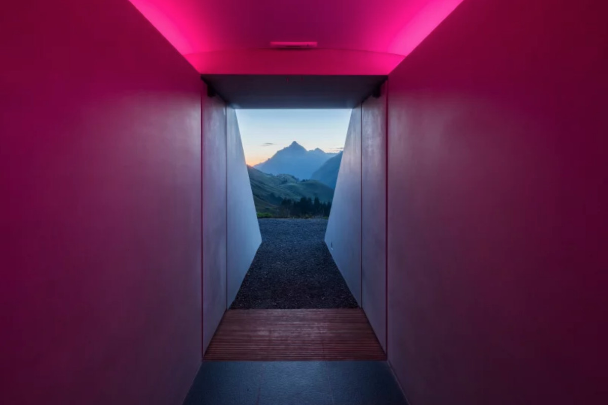 James Turrell S New Skyspace Is Nestled Into The