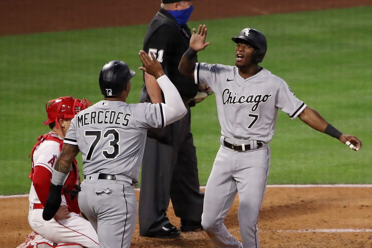 Chicago White Sox v Los Angeles Angels