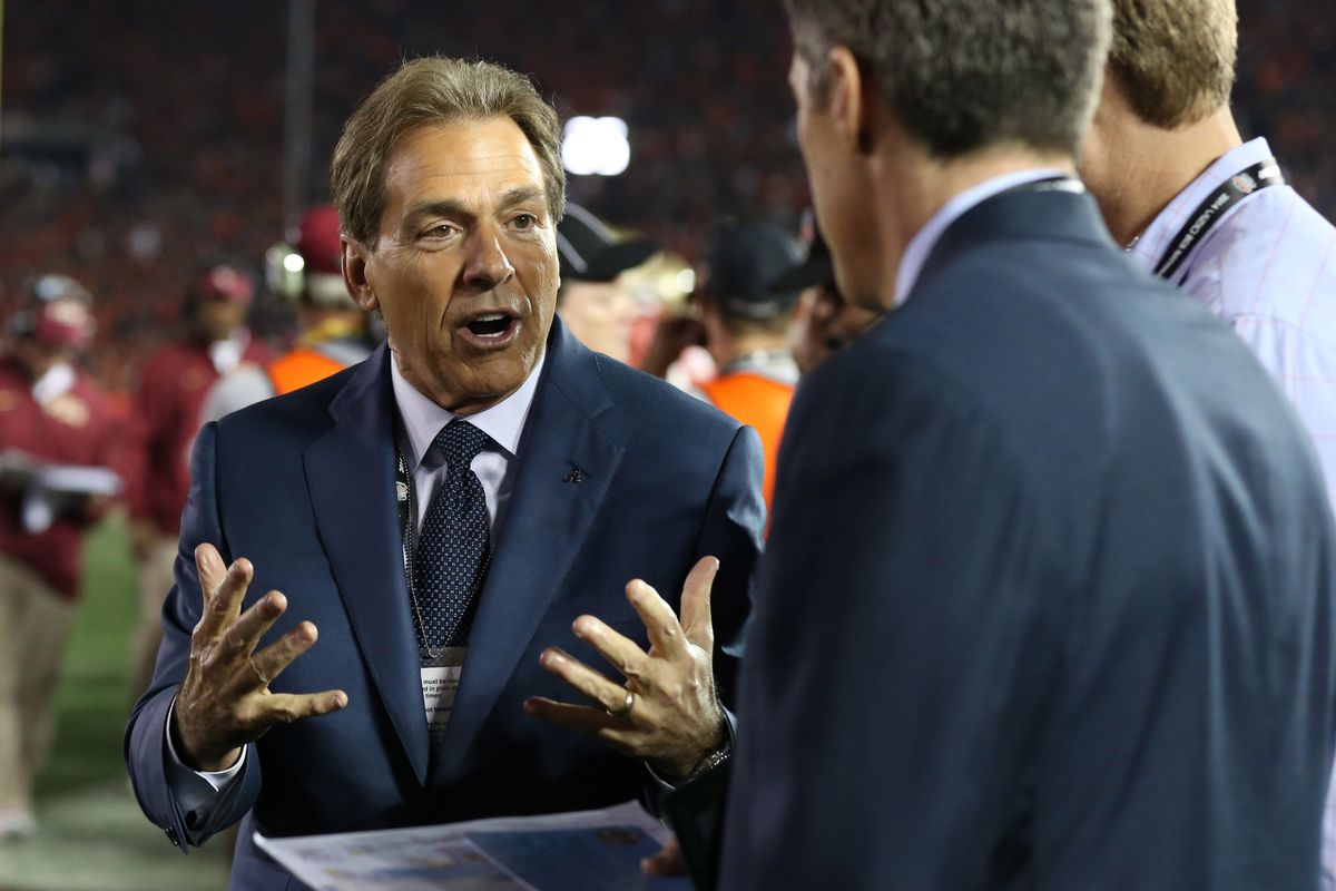 What can Nick Saban do to get you in this new car today?