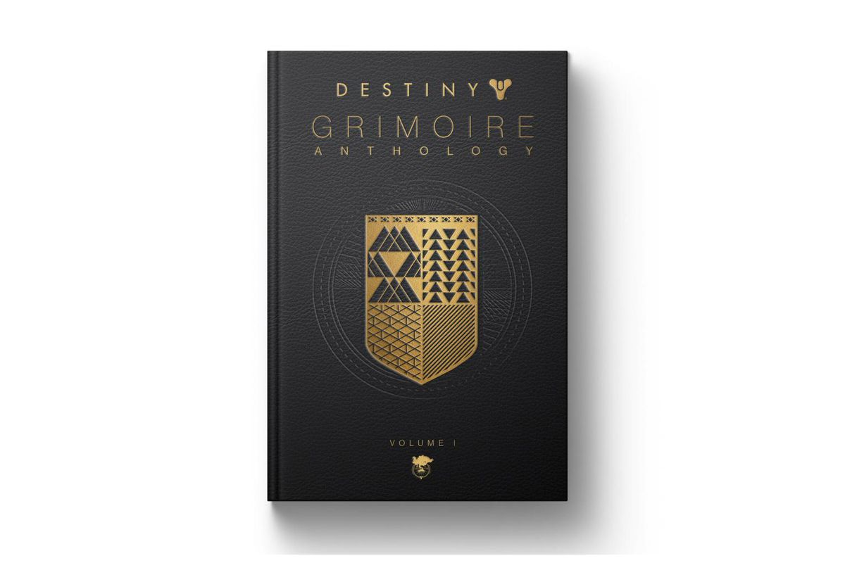 destiny s excellent lore is being collected into a physical