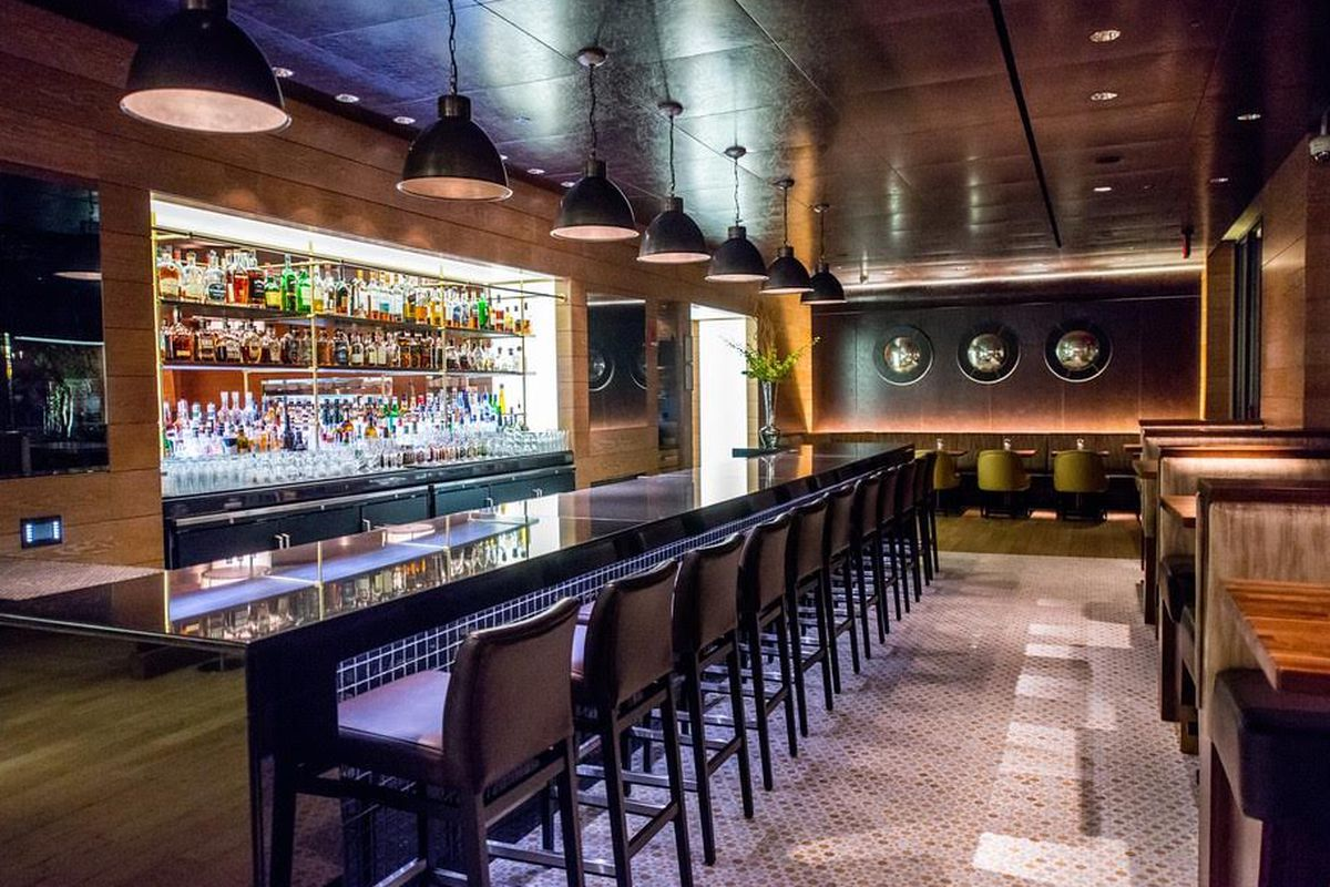 A Revamped Bourbon Steak Lounge Reopens Tonight With A New