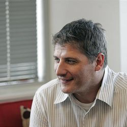 Provo Craft CEO Jim Thornton talks about his company from his corporate office in South Jordan Friday, July 16, 2010.