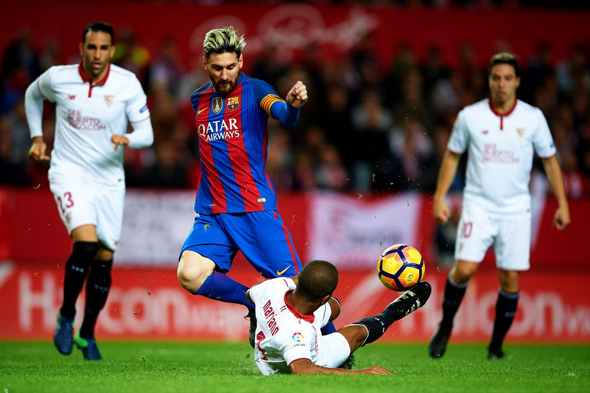 sevilla fc 1-2 fc barcelona  2016 la liga  match review