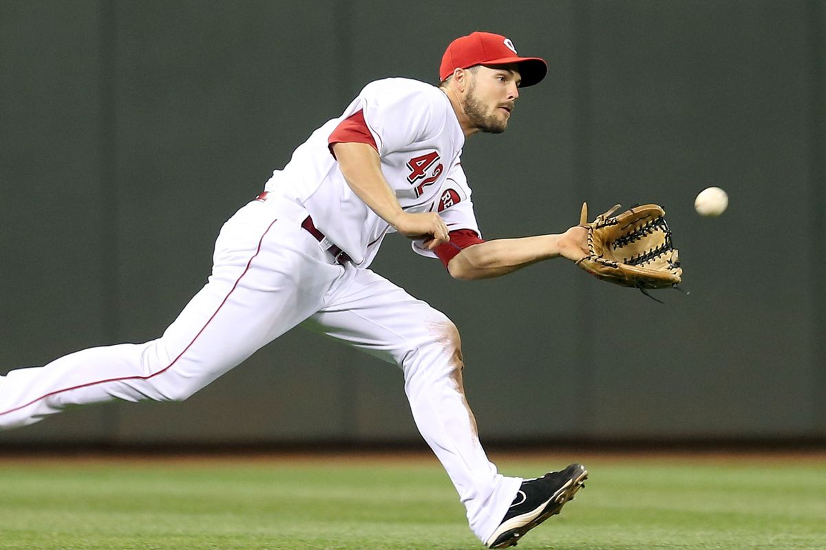 Chris Heisey is, I believe, an alum from the smallest school with an MLB player.
