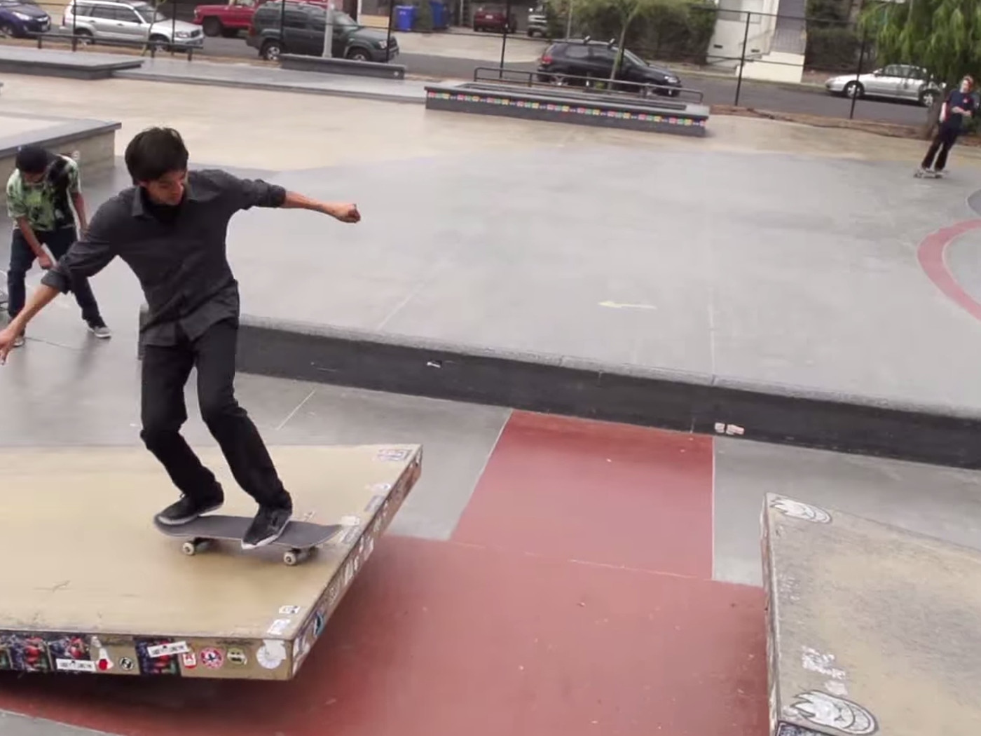 Slow-motion videos of skateboarding are all I want to film