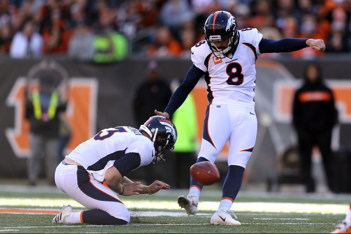 Best Kicker In Nfl 2019 2019 Denver Broncos roster review: Kicker Brandon McManus   Mile