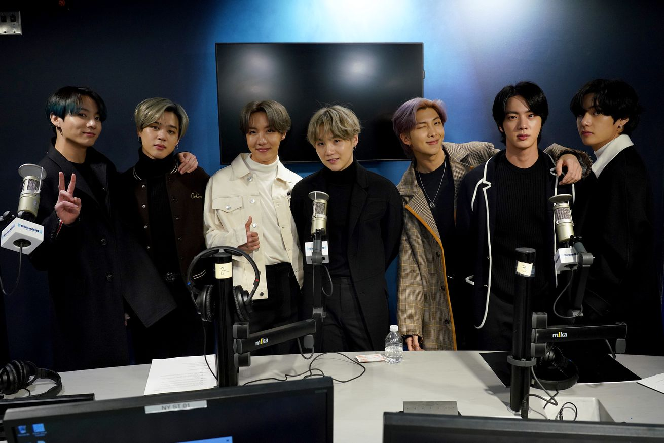 BTS Visits the SiriusXM Studios