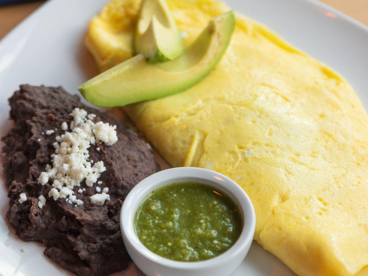 An omelet from El Naranjo
