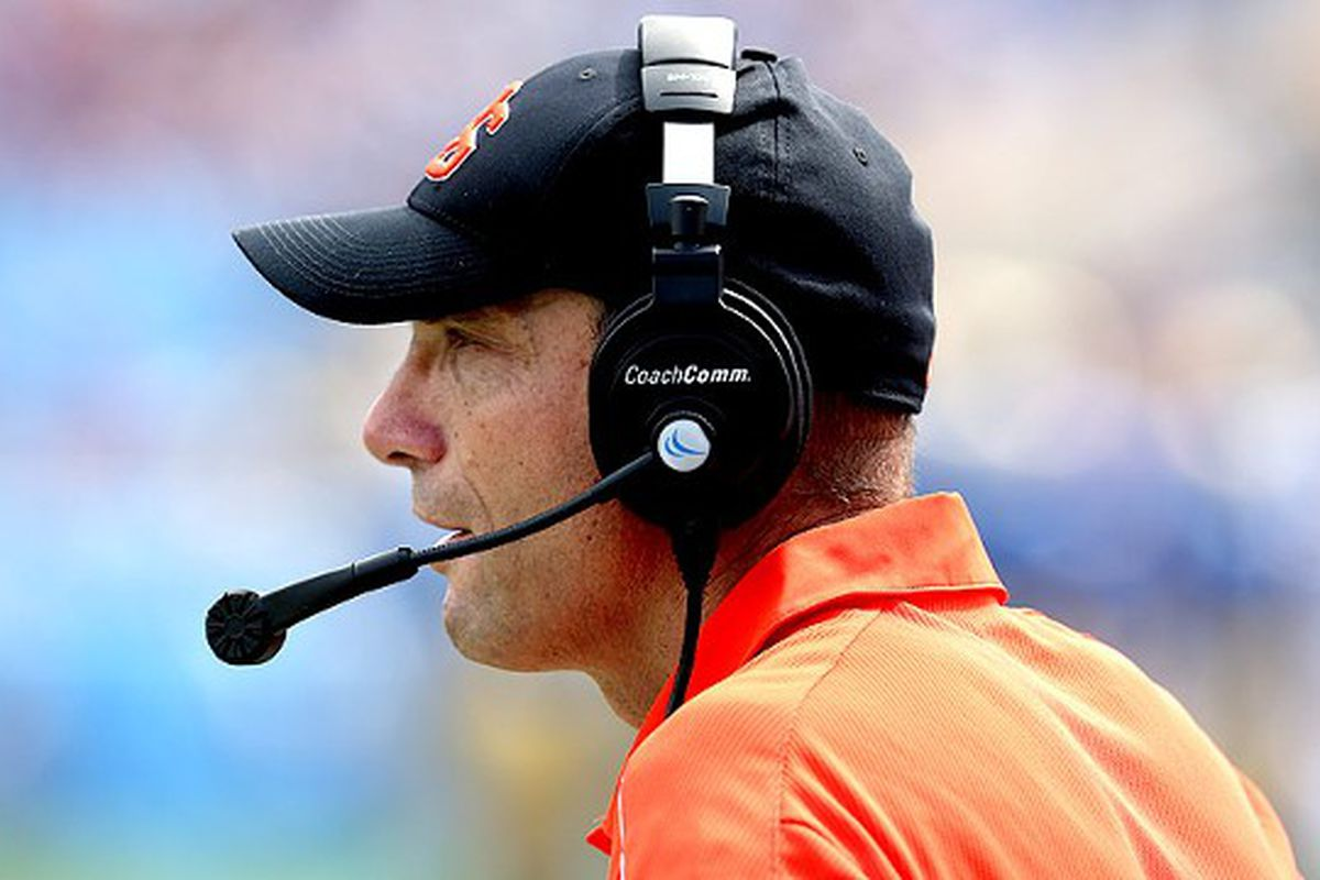 Oregon St. coach Mike Riley landed one of Oregon St.'s better recruiting classes ever today, but it could have been better.