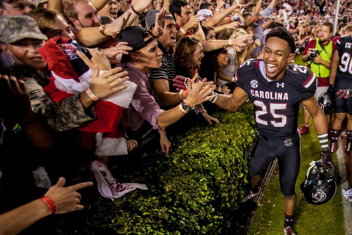 NCAA Football: Tennessee at South Carolina