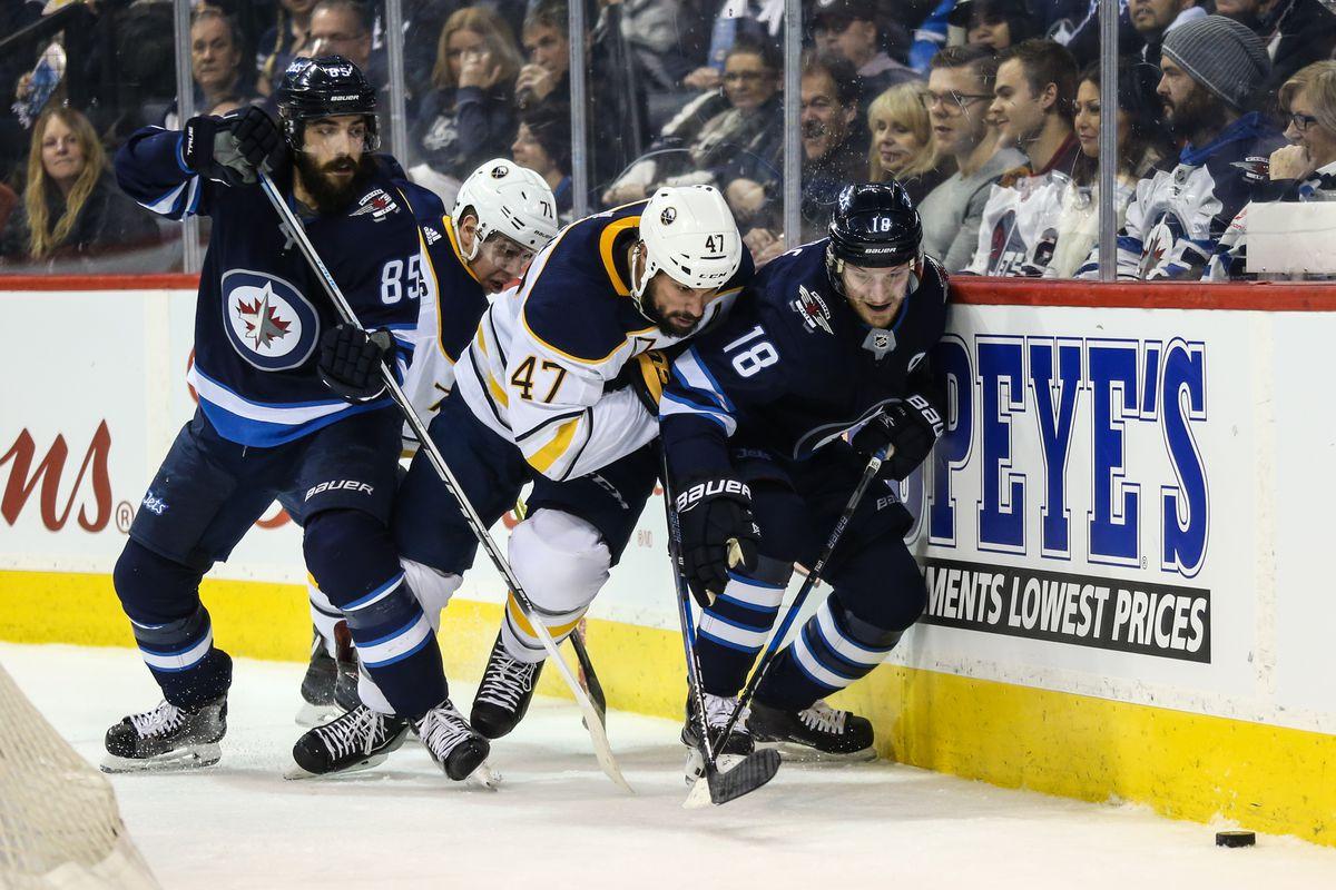 NHL: Buffalo Sabres at Winnipeg Jets