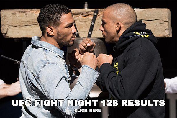 UFC Atlantic City Results