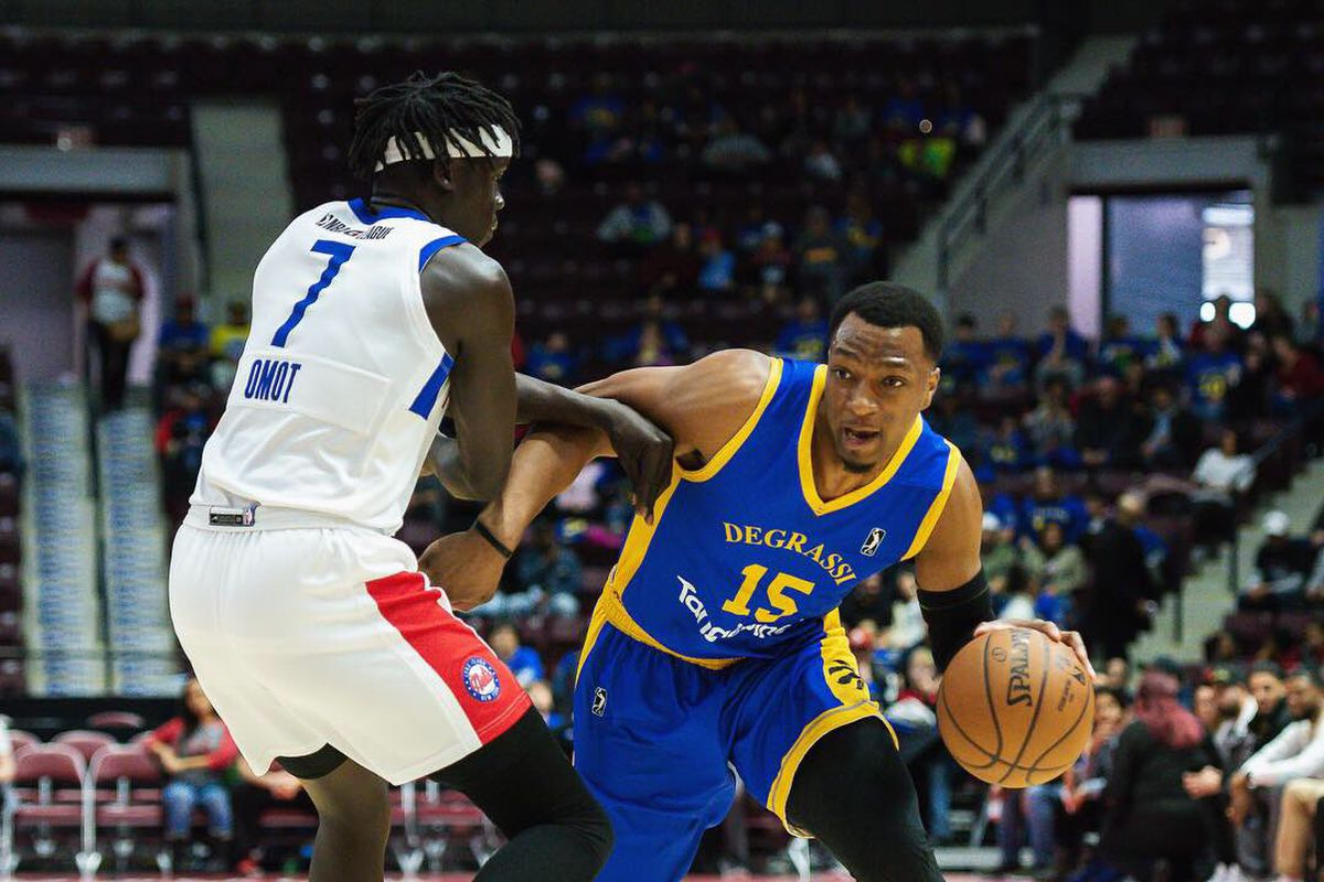83e45d1106c Long Island's 'Big Three' scores 70 in win over Raptors 905 in Canadian  road game - NetsDaily