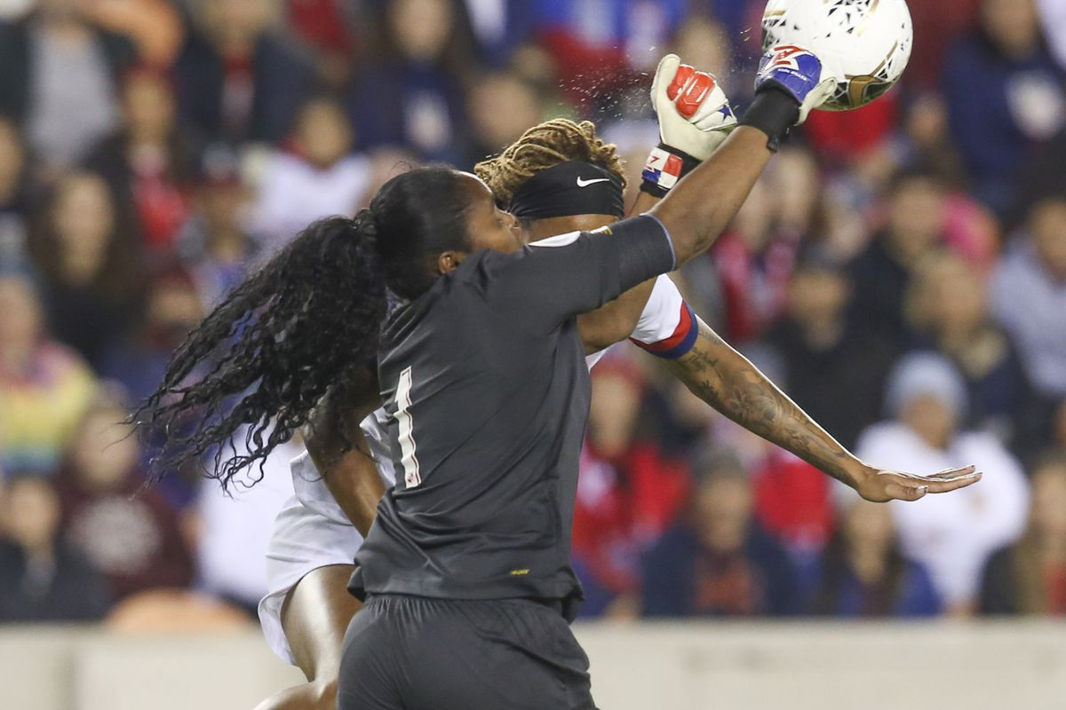 Soccer: CONCACAF Women's Olympic Qualifying-Panama at USA