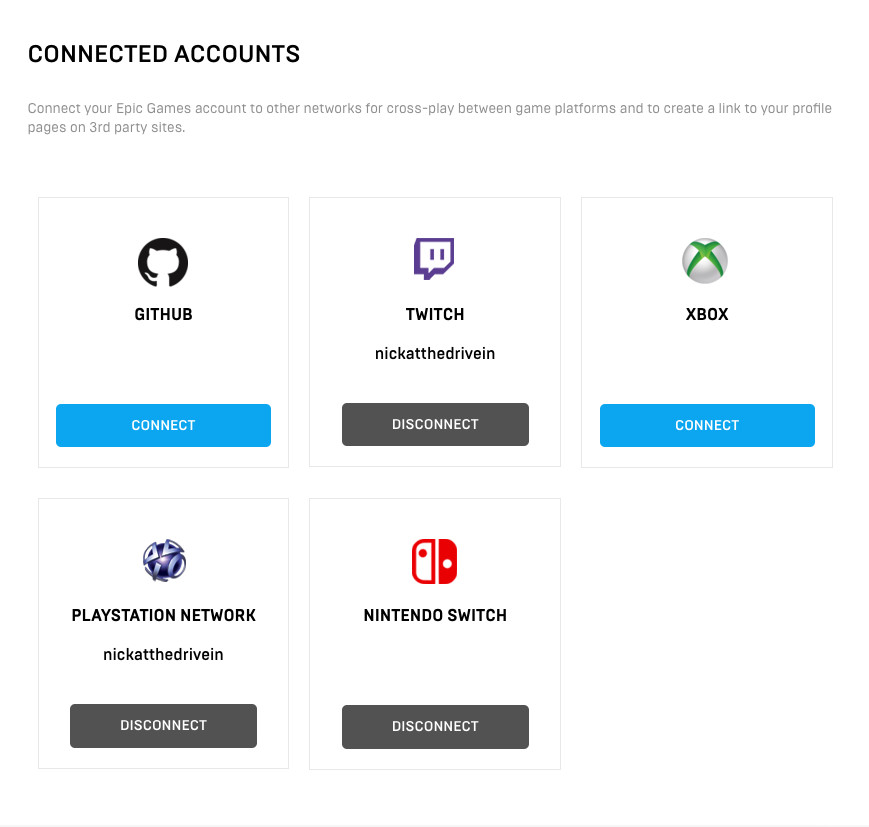 How to tie a PlayStation-linked Fortnite account to your Nintendo