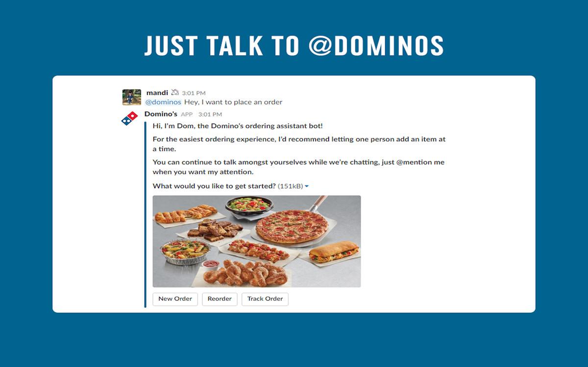 Domino\'s Unveils New Pizza Ordering App for Slack - Eater