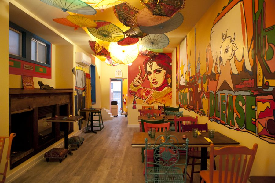 Inside Chaat And Chai The Most Colorful Restaurant In
