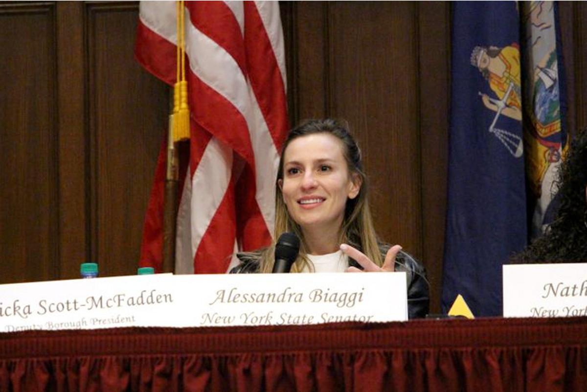 State Senator Alessandra Biaggi (D-The Bronx and Westchester)