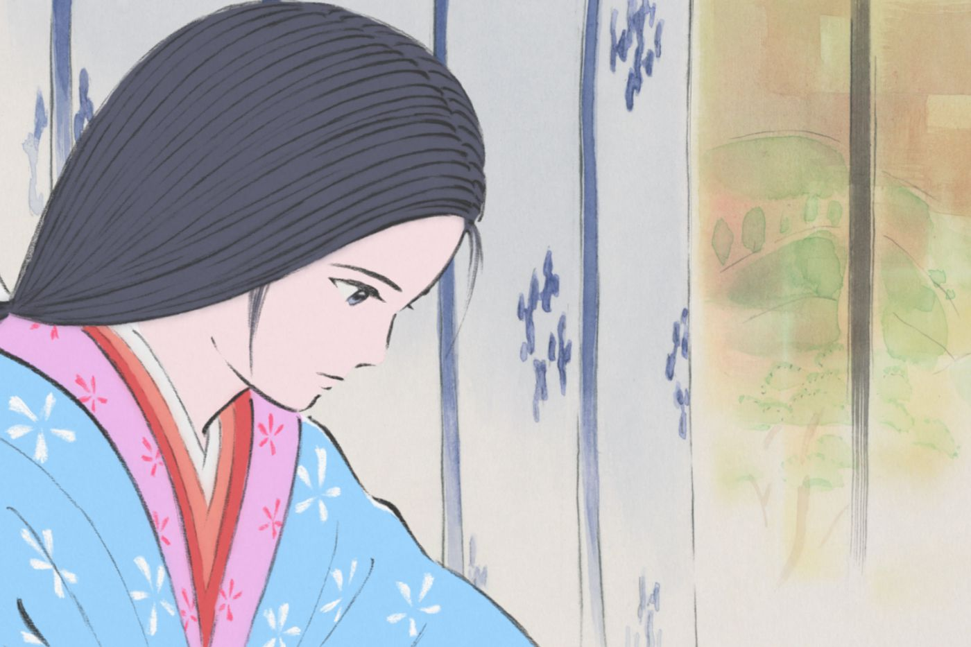 The Tale of the Princess Kaguya' is the most gorgeous film