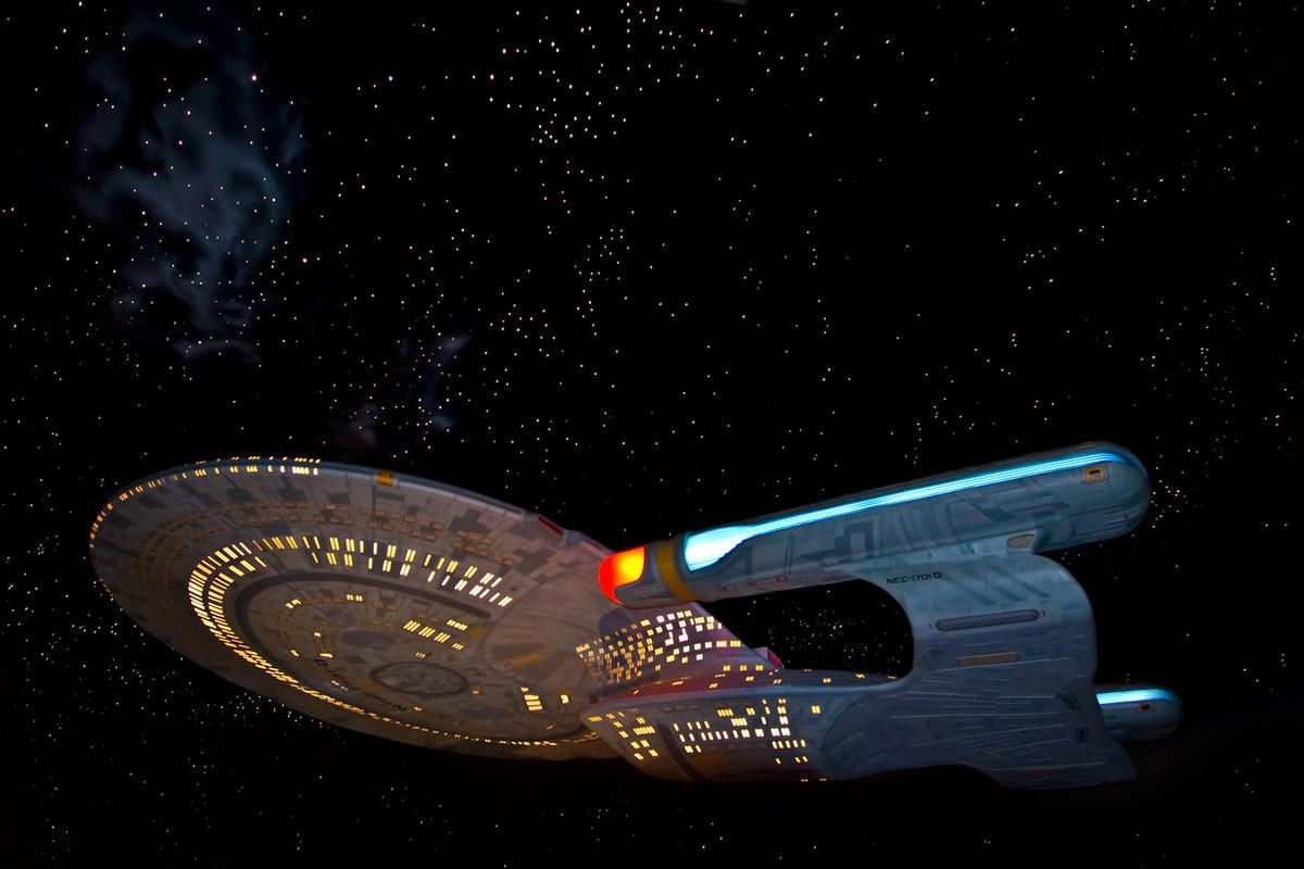 """Since it first ventured into the final frontier in the 1960s, """"Star Trek"""" has held a prominent place in pop culture, known for playing with social norms and predicting modern technology. But to some experts, it's also very progressive in its exploration o"""