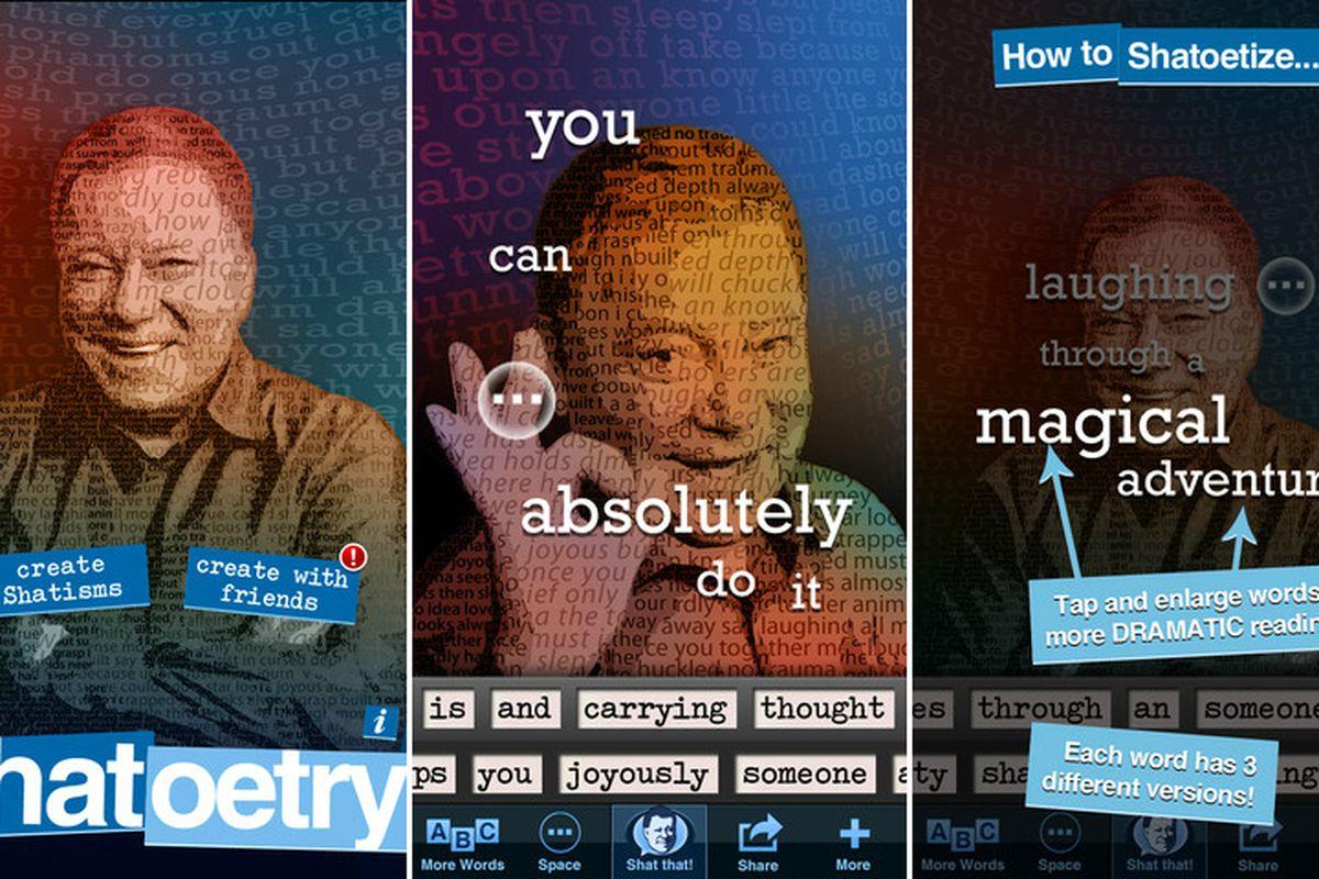Shatoetry app screenshots