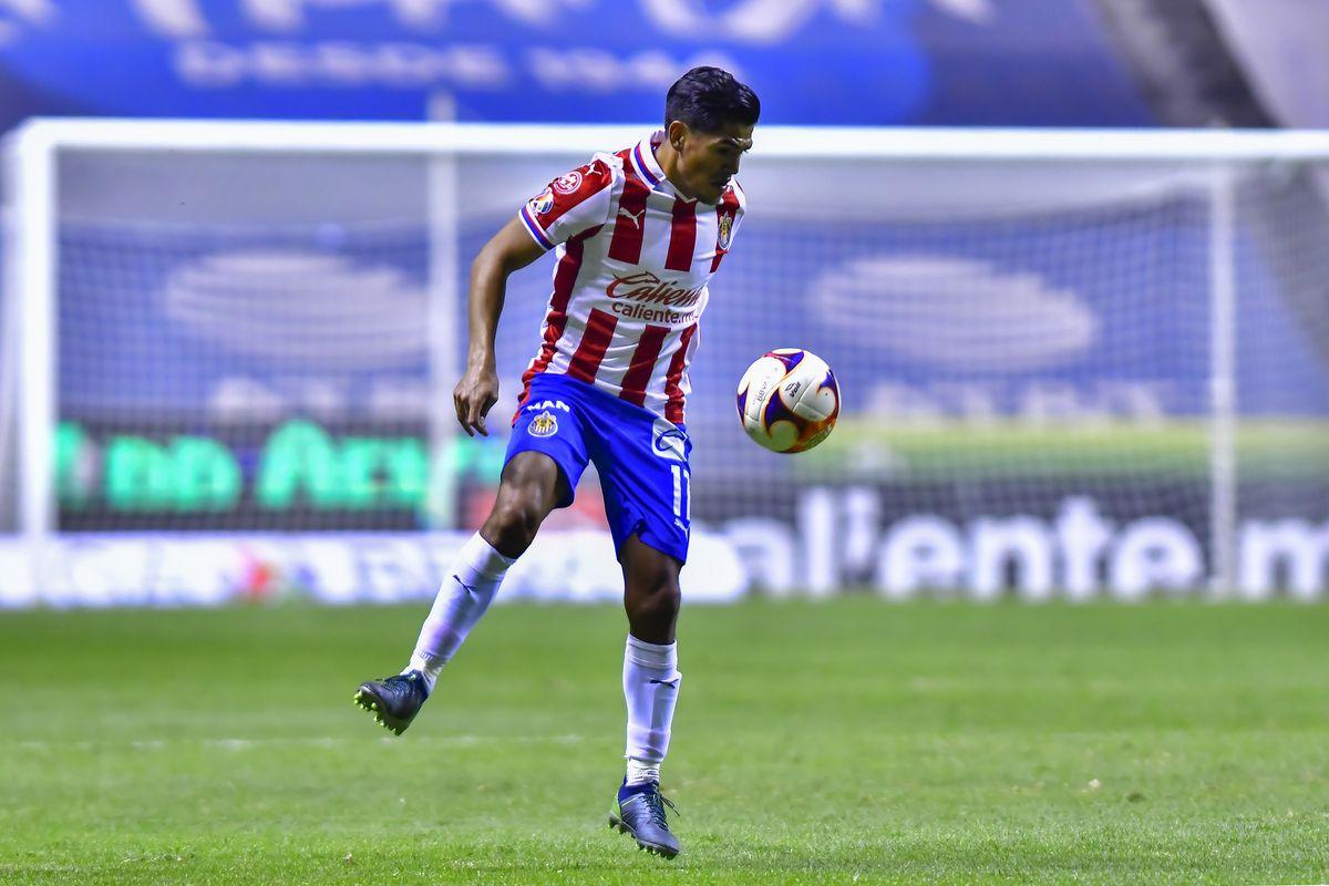Puebla FC v Chivas - Torneo Guard1anes 2021 Liga MX
