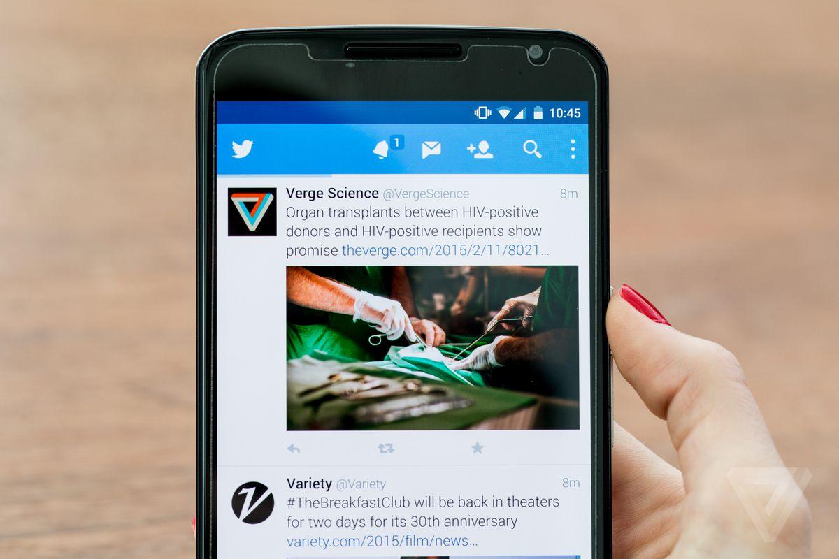 Twitter stock image