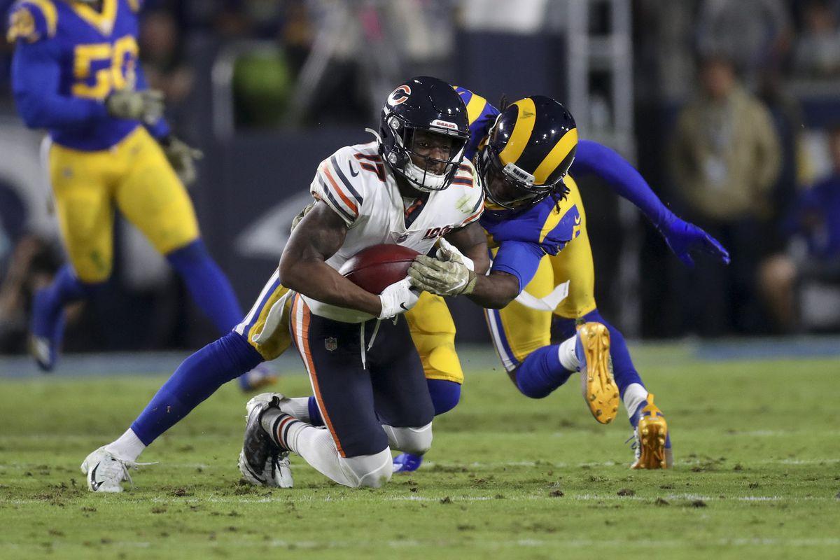 Rams cornerback Jalen Ramsey faces a different test against run-heavy Ravens