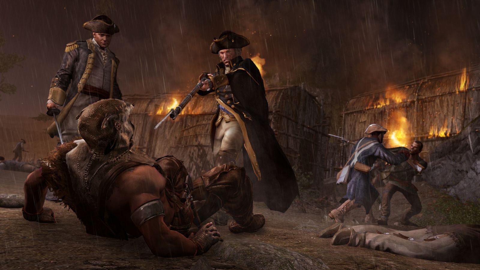 Assassin's Creed 3: Tyranny of King Washington trailer