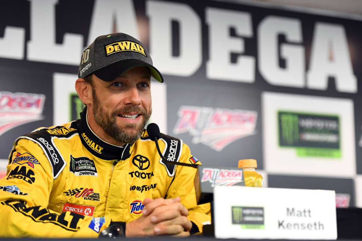Kenseth sitting out 2018 but not ready to retire