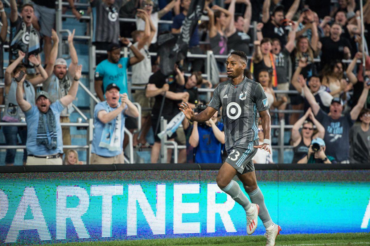 July 13, 2019 - Saint Paul, Minnesota, United States - An MLS match between Minnesota United and FC Dallas at Allianz Field. (Tim C McLaughlin)