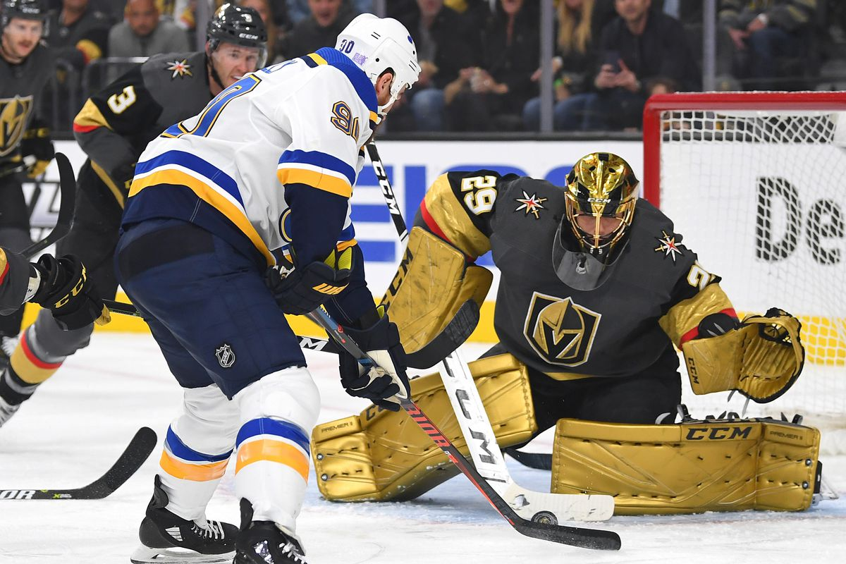 NHL: St. Louis Blues at Vegas Golden Knights