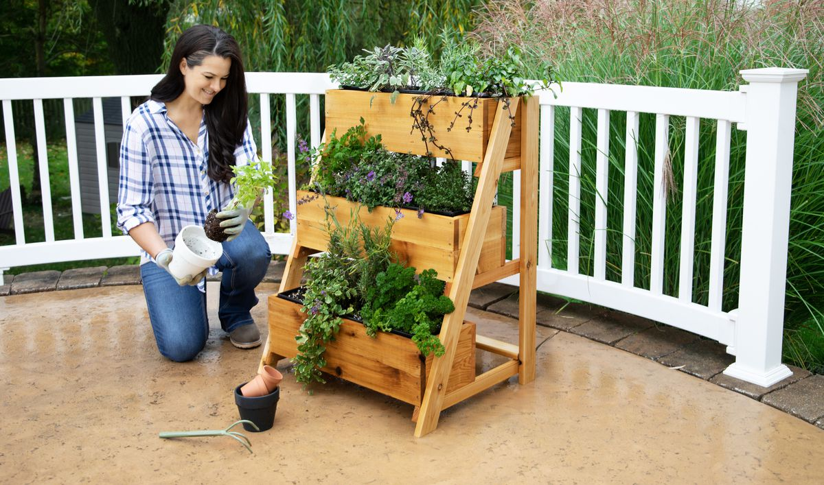 Summer 2021 Easy DIY, planter step 9