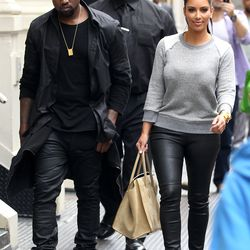 The twosome's been twinning since the very beginning. Back in April 2012, shortly after announcing their status as a couple, they stepped out in black leather pants in NYC.